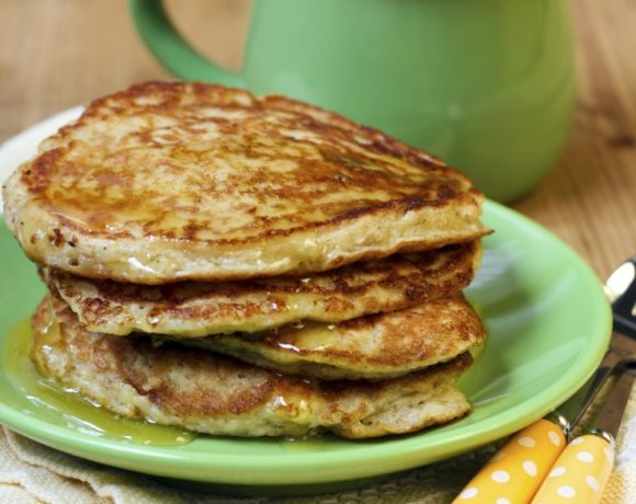 Freezer-Friendly Oatmeal Pancakes Recipe