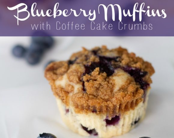 Blueberry Muffins. Crumb Topping. Fab Recipe.