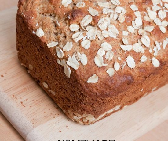 "Oatmeal Molasses Bread from the ""Merry Homemaker"""