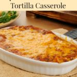 Meatless Dining – Mushroom and Black Bean Tortilla Casserole