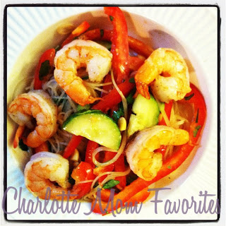 Back-Pat Worthy: Peanut Noodle Salad with Shrimp!