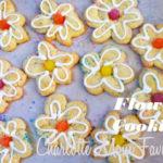 Flower Cookies, A Charlotte Mom Favorites Baking Craft.