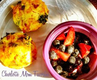 DIY Lunch Playdate – Mini Omelet and Yogurt Bar