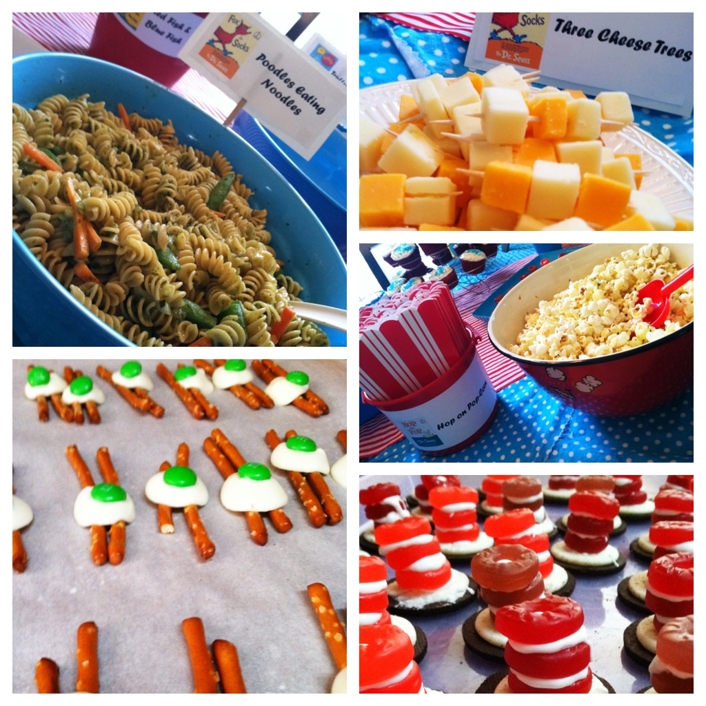 Dr Seuss Party Celebrating The Things In Our Life Mom Favorites
