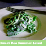 sweet pea summer salad