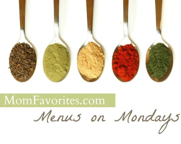 Menus on Mondays, 9/24/12