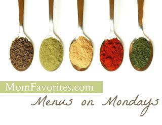 Menus on Mondays: 9/10/12