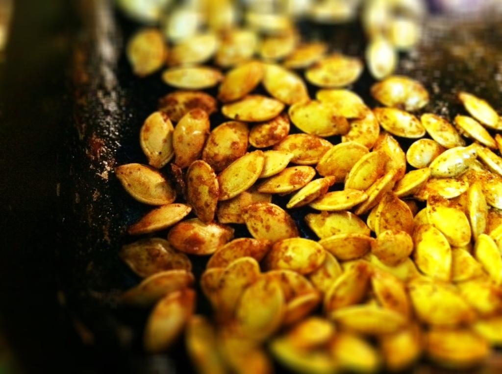 halloween pumpkin seeds