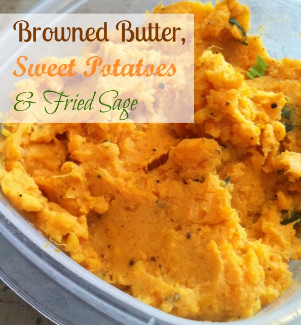 ... sage brown butter sauce brown butter and sage sweet potato casserole
