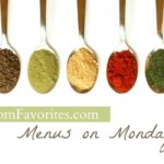 Menus on Mondays: Menu Plan for the week of 11/26/12