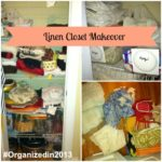 #Organizedin2013: Linen Closet Makeover