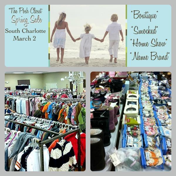 posh closet consigment sale charlotte