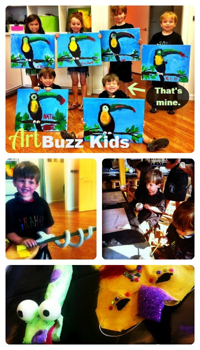 art buzz kids camp