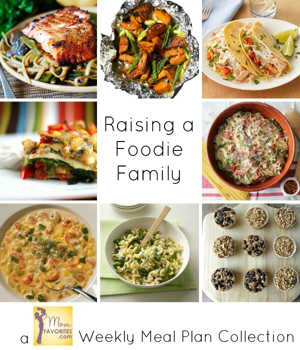raising a foodie family