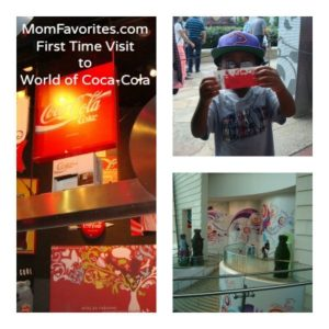 First Time Visit to World of Coca-Cola