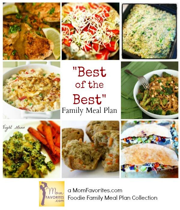 foodie family menu