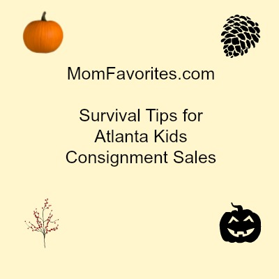 Survival Tips for Atlanta Kids Consignment Sales