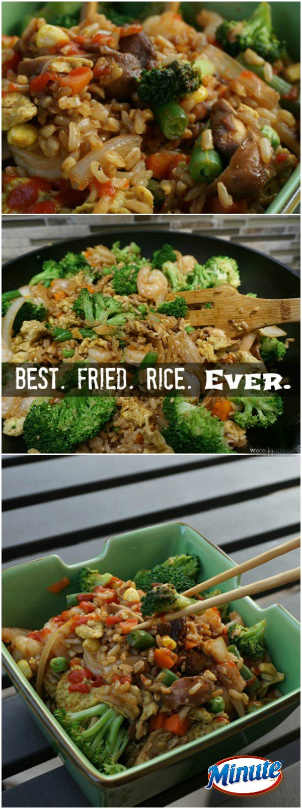 Need a craveable recipe that you can make with whatever you have on hand? Gotta try this Veggie Loaded Fried Rice recipe... it's better than Chinese takeout!
