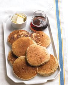 week 1 cinnamon oat pancakes