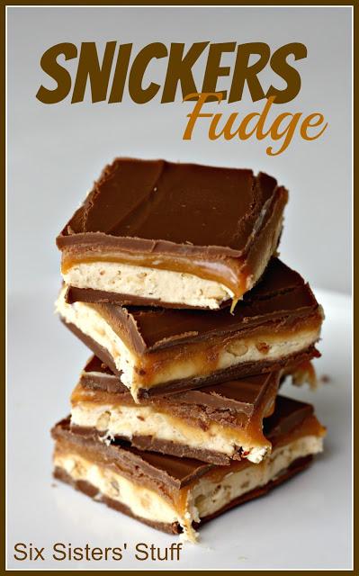 week 2 snickers fudge