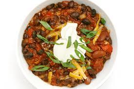 week 2 veggie chili
