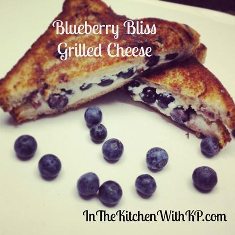 week 5 blueberry sandwich