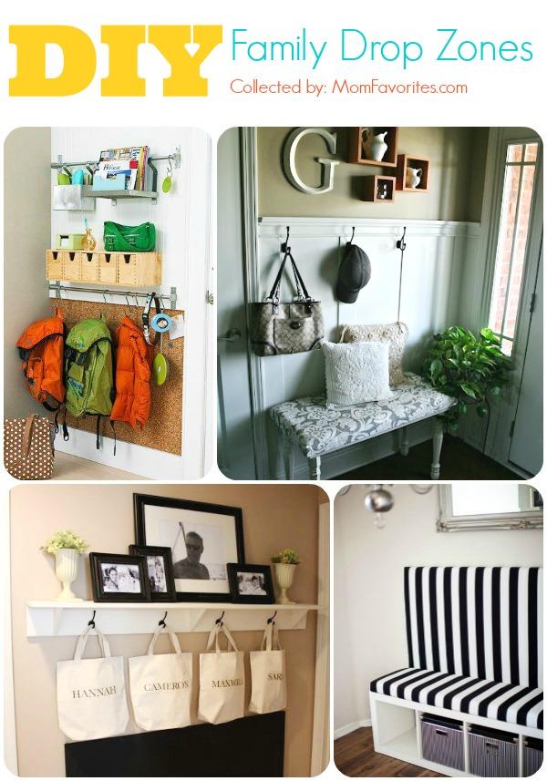 DIY dropzone collage