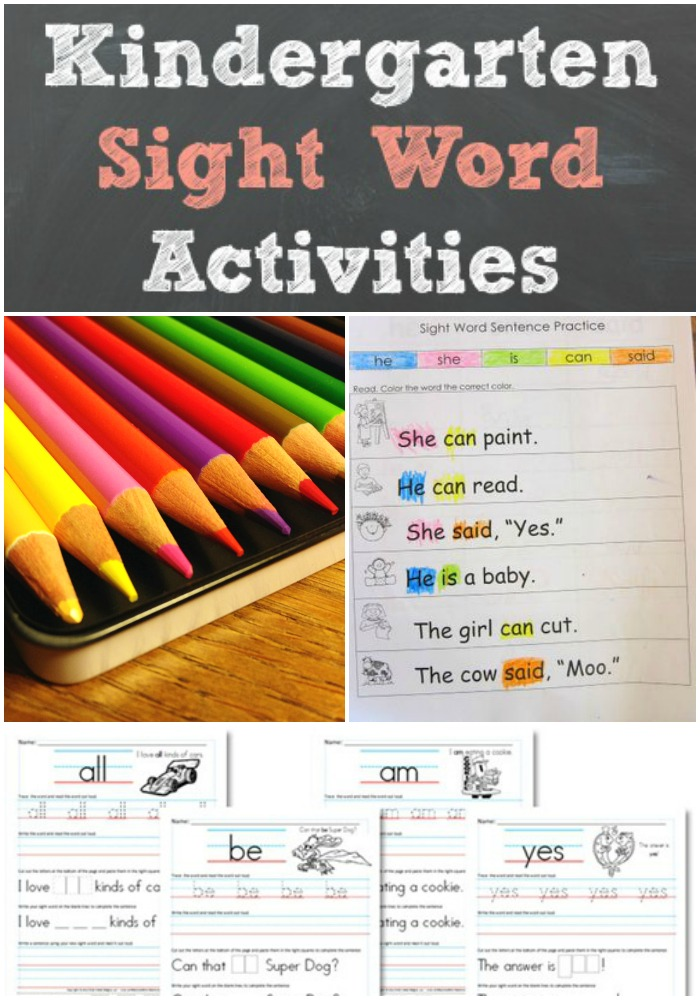 Word early of literacy. Roundup Kindergarten  boost to activities Sight  Activities sight word kindergarten