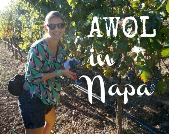 AWOL in Wine Country