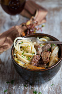 Bucatini_with_Pan-Seared_Steak_Tips_and_Belgian_Endive_from_Kitchen_Serendipity_blog
