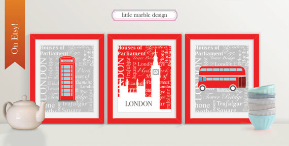 Decorating Kids Rooms in #ThisNewHouse: London Theme - Mom Favorites