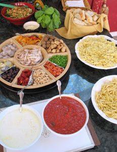 spaghetti bar