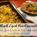 black eyed pea cassoulet