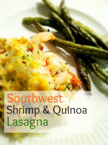 southwest+shrimp+quinoa