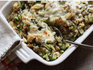 broccoli barley bake