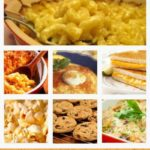 comfort food collage