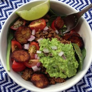 paleo taco bowl