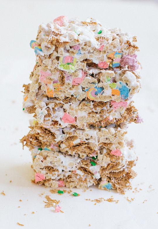 st patricks day 5 cereal bars