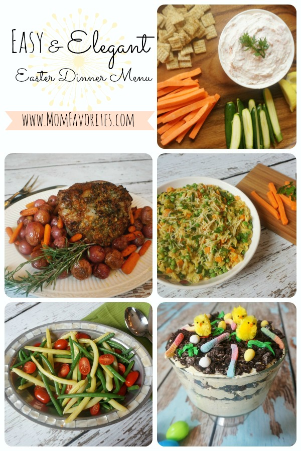 Easy & Elegant Easter Dinner Menu - Mom Favorites