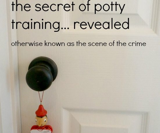 The Secret to Potty Training that No One Is Sharing