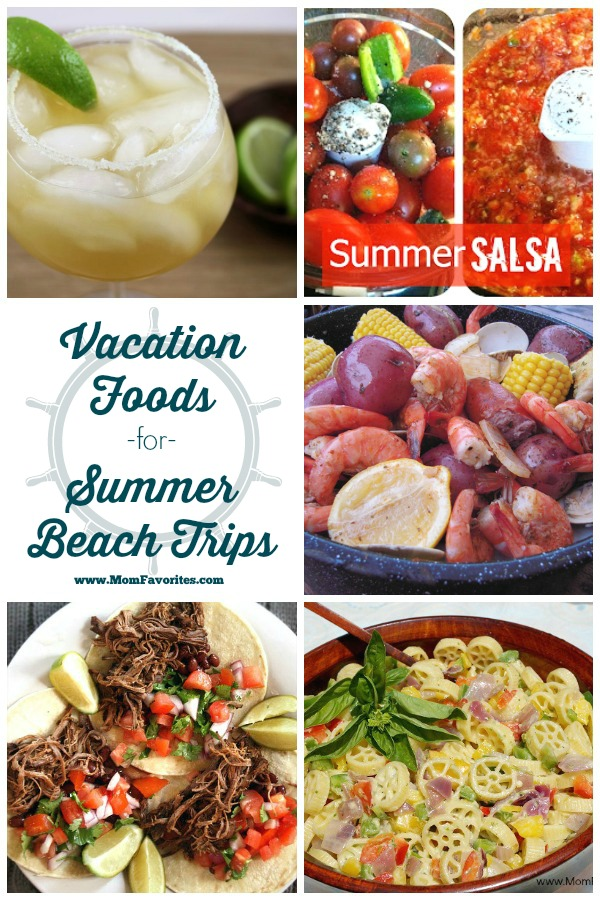 Summer Vacation Recipe Collection from Mom Favorites