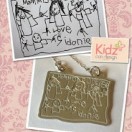 {WIN} A Custom Artwork Jewelry from KidzCanDesign.com