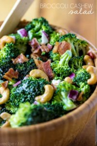 broc cashew salad