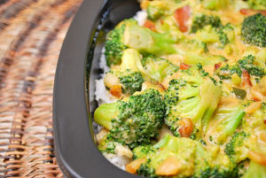 broc rice bake