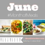 june menu plan month of meals collection