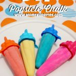 Popsicle Chalk and other outdoor activities