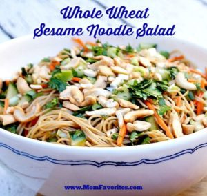 whole wheat sesame noodles