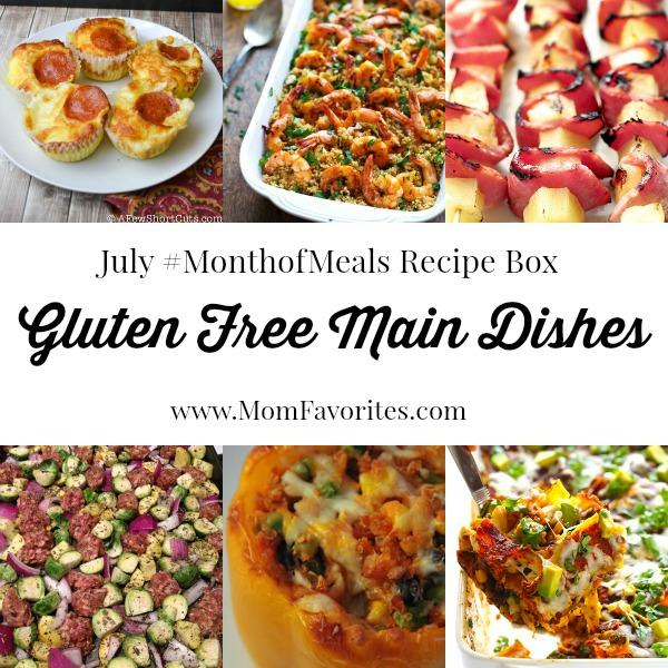 gluten free dinners july