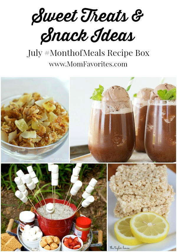 july desserts and sweets