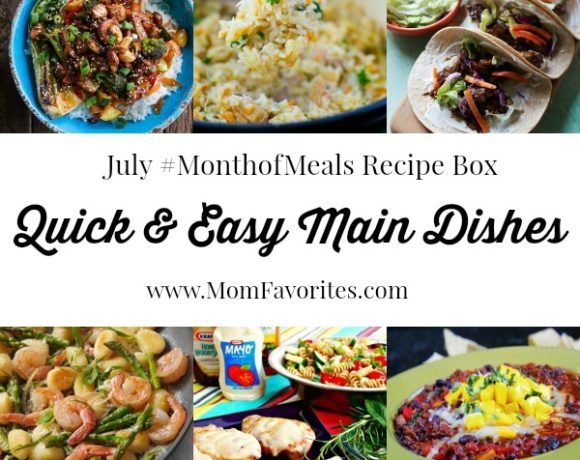 Month of Meals Recipe Box – July 2014
